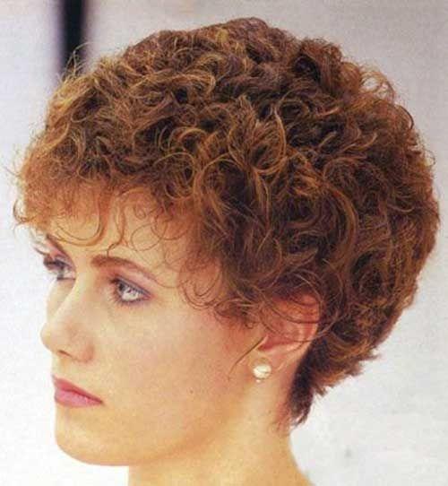 Fresh very short permed curly haircuts short permed hair permed Short Perm Hair Styles Inspirations
