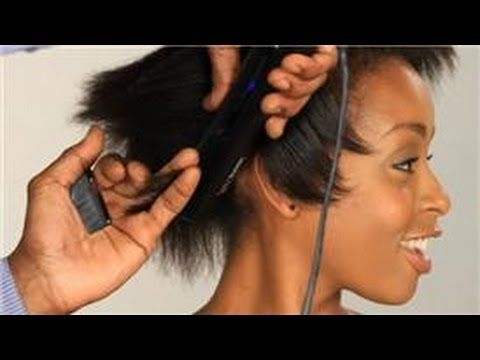 Fresh video flat iron styling rules for short relaxed hair Styling Short Hair With Flat Iron Inspirations