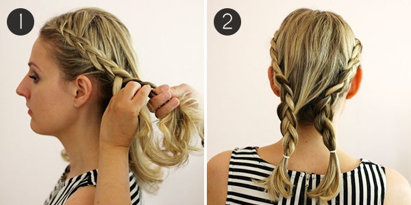 hairstyle how to easy braids for short hair more Easy Braided Hairstyle For Short Hair Ideas