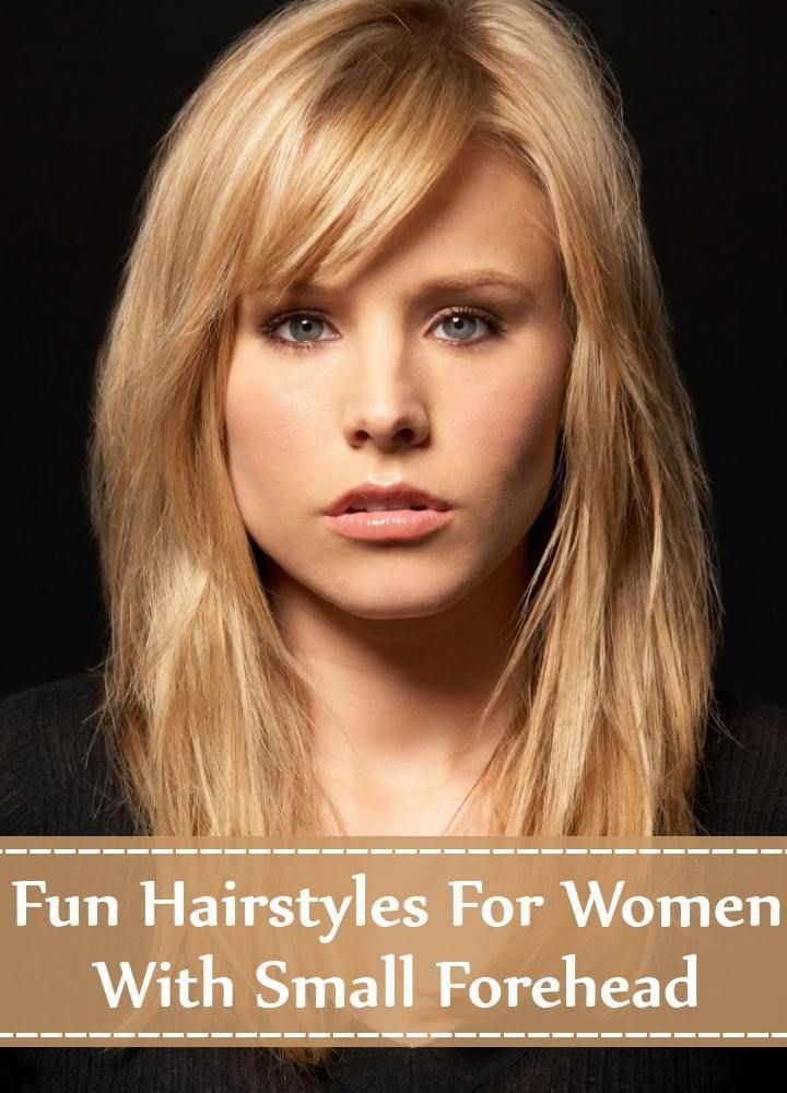 hairstyles for women with small forehead hair styles Haircuts For Short Foreheads Choices