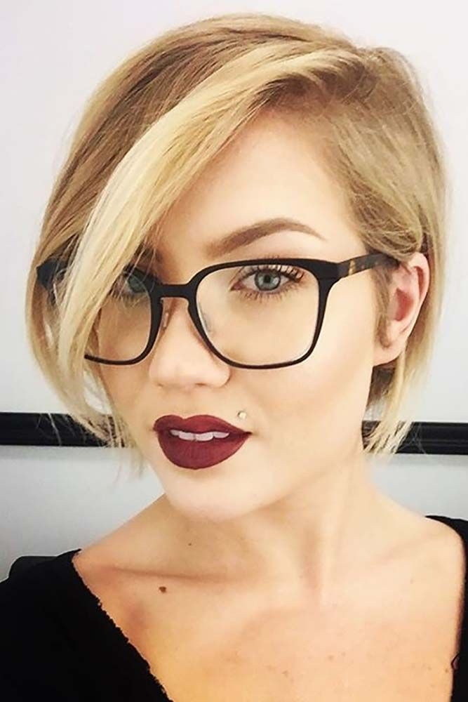 how to choose glasses for short hair and round face shape Glasses For Short Hair Styles Choices