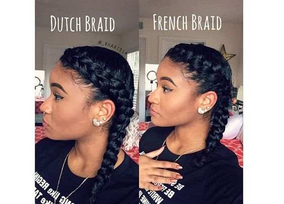 how to do a french braid on black hair black hair spot Black Hair French Braid Styles Ideas