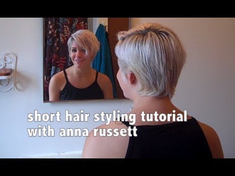 how to style short hair Short Hair Styling Tutorials Inspirations