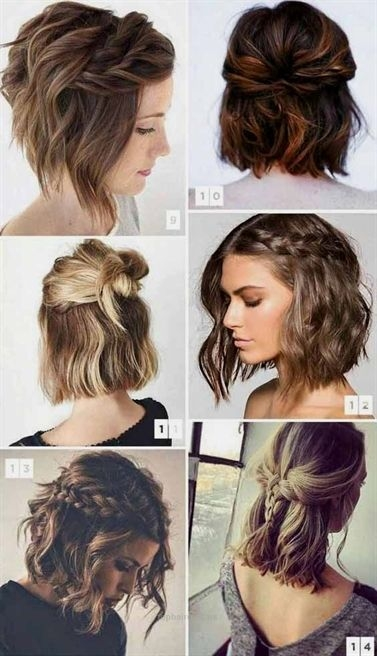 how to style short hair with pigtails and half doses how Ways To Style Medium Short Hair Inspirations