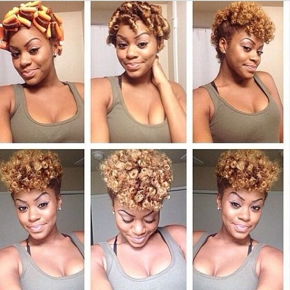 how to use flexi rods on natural hair Flexi Rod Styles For Short Hair Ideas
