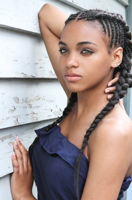i think aaliyah will look like thus when shes older African American Hairstyles While Pregnant