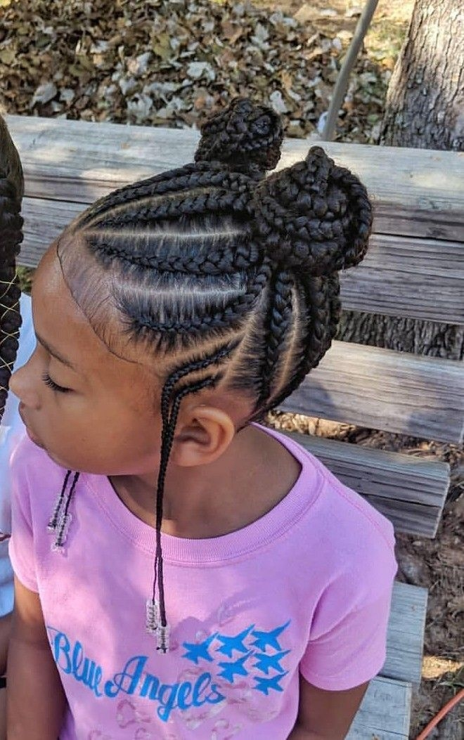 lil girl hairstyles kids braided Braids Hairstyles For Kids In Natural Hair Ideas