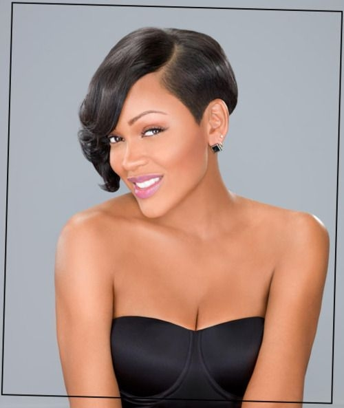 megan good is so gorgeous to me she is one beautiful woman Megan Good Short Hair Styles Choices