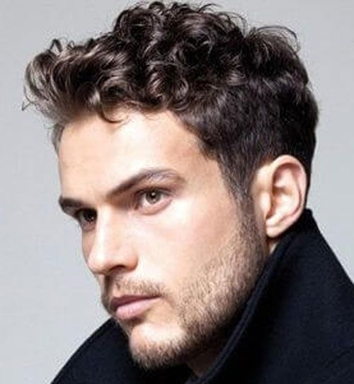 pin on curly hairstyles for men Cool Hairstyles For Guys With Short Curly Hair Ideas