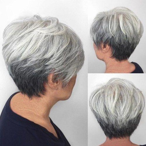 pin on hair cuts Short Haircuts For Grey Hair Ideas