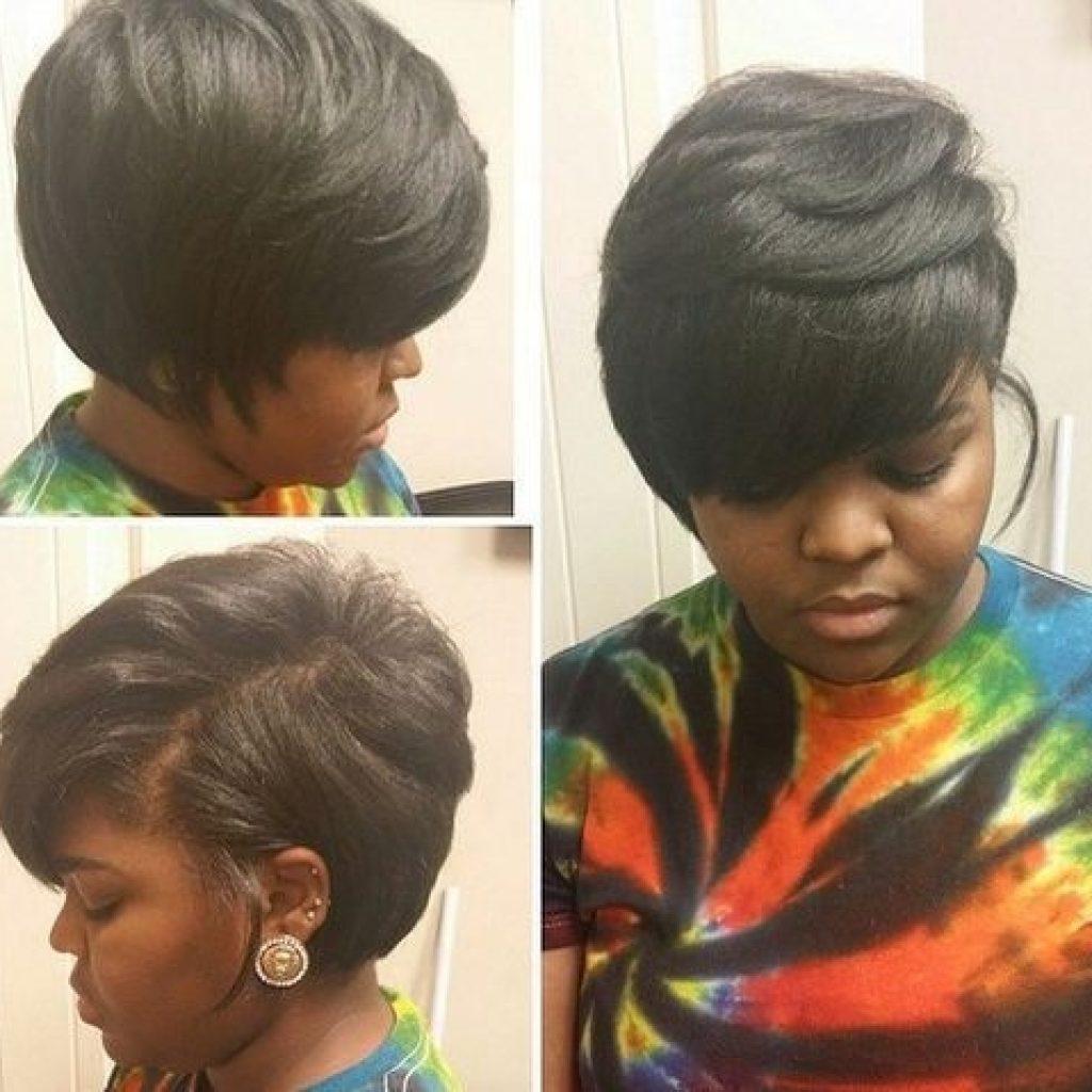 pin on hair Short Layered Bob Hairstyles African American