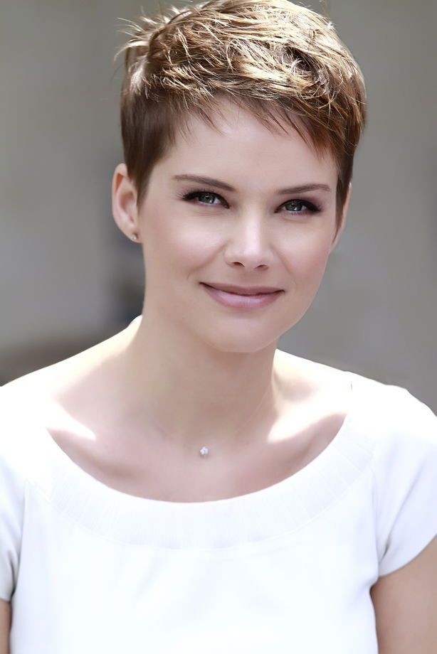 pin on hair Short Pixie Hairstyles For Thick Hair Ideas