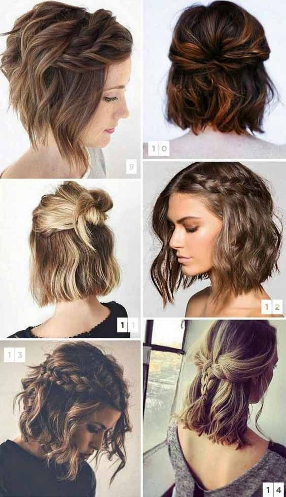 pin on hairstyles beauty Picture Day Hairstyles For Short Hair Inspirations