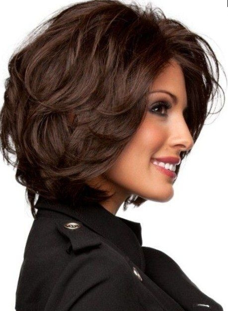 pin on hairstyles Haircuts For Short Thick Hair Inspirations