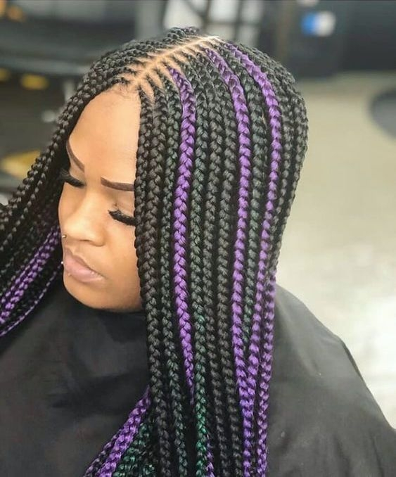 pin on hairstylez Stylish Cornrows For African Hair