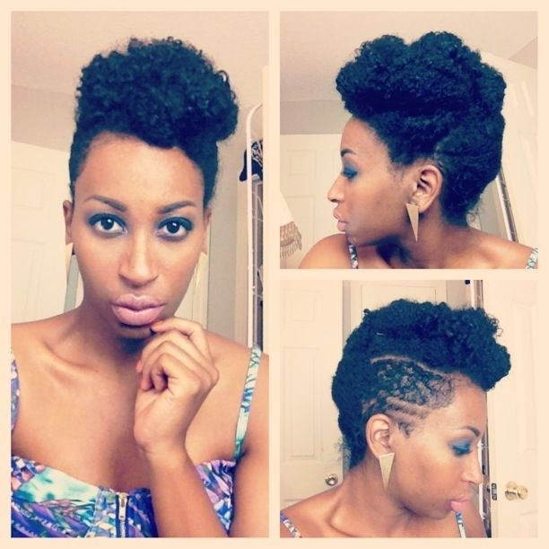 pin on kinky curly Pin Up Styles For Short Natural Hair Choices