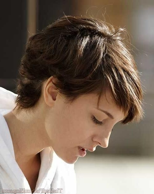 pin on my 50s Short Pixie Hairstyles For Thick Wavy Hair Inspirations