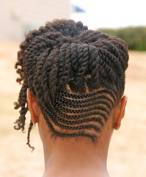 pin on natural hair love Natural Cornrow Hairstyles For Women