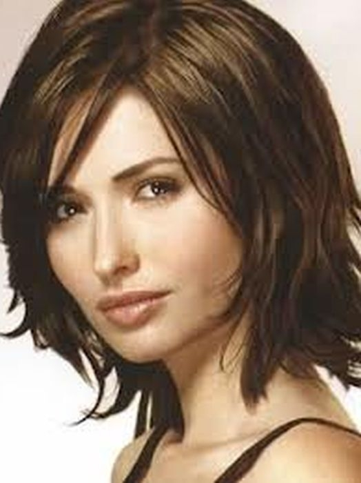 pin on short hair styles Short Hairstyles For Thick Hair Long Face Choices