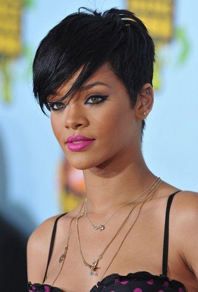 pixie rihanna 2 rihanna short hair rihanna hairstyles Rihanna Short Hair Styles Choices