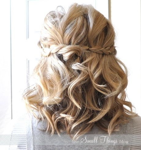 prom hairstyles for short hair half up half down google Prom Hairstyles For Short Hair Half Up Half Down Curly Inspirations