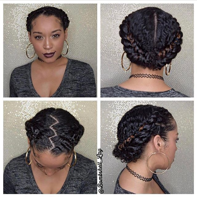 protective hairstyles for short 3c hair hairstyles Protective Hairstyles For Short Natural Hair Pinterest Ideas