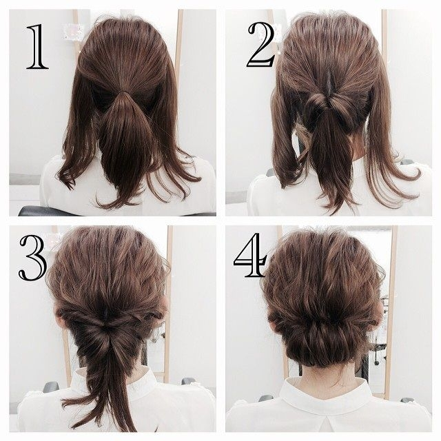 quick and convenient simple hairstyle ideas for short hair Quick Styling Ideas For Short Hair Choices