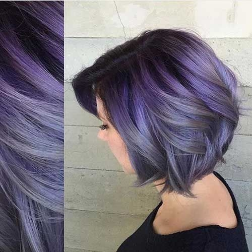 short colored hair ideas with different styles haarfarben Dye Short Hair Styles Ideas