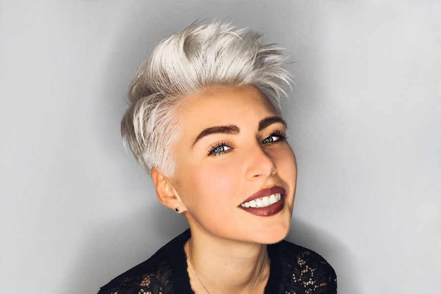 short haircuts for oval faces will put an end to your troubles Short Hair Styles For Oval Faces Choices