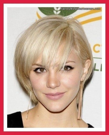 short hairstyles for fine hair oval face style pinterest Short Haircuts For Thin Hair And Oval Face Ideas