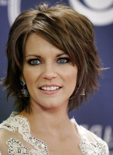 short hairstyles for thick coarse hair short thick Short Haircuts For Thick Wavy Hair Oval Face Inspirations
