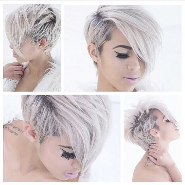 stunning colored short haircuts short hair styles Short Funky Hair Styles Choices