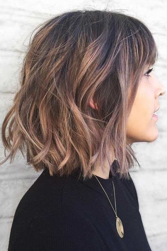 Stylish 10 cute short haircuts with subtle balayage short haircut Cute Haircut For Short Hair Inspirations