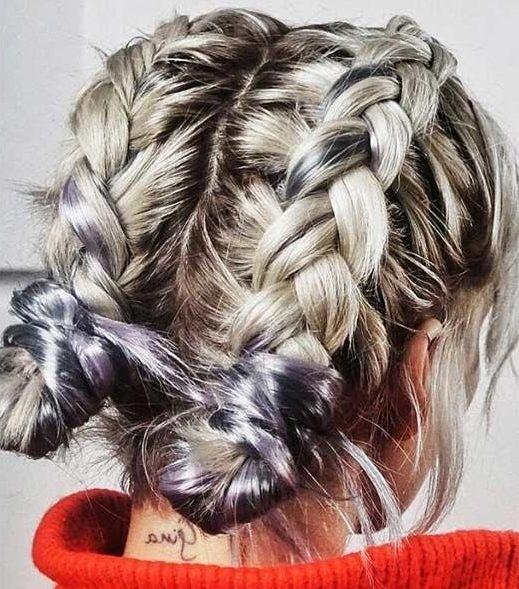 Stylish 10 easy step step braids for short hair short hair models Simple Braided Hairstyles For Short Hair Step By Step Ideas