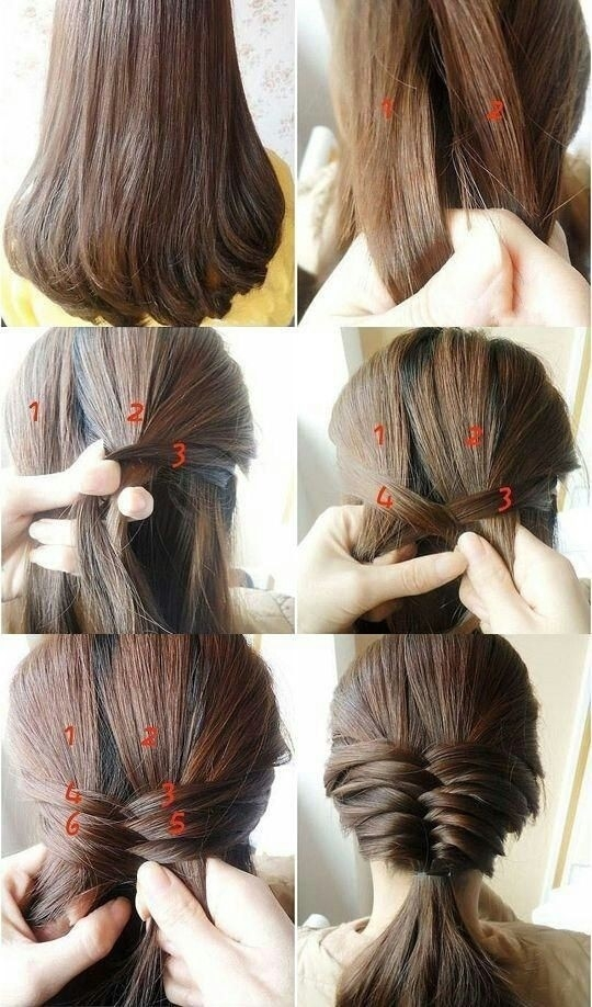Stylish 10 french braids hairstyles tutorials everyday hair styles Quick And Easy Braided Hairstyles For Medium Hair Inspirations