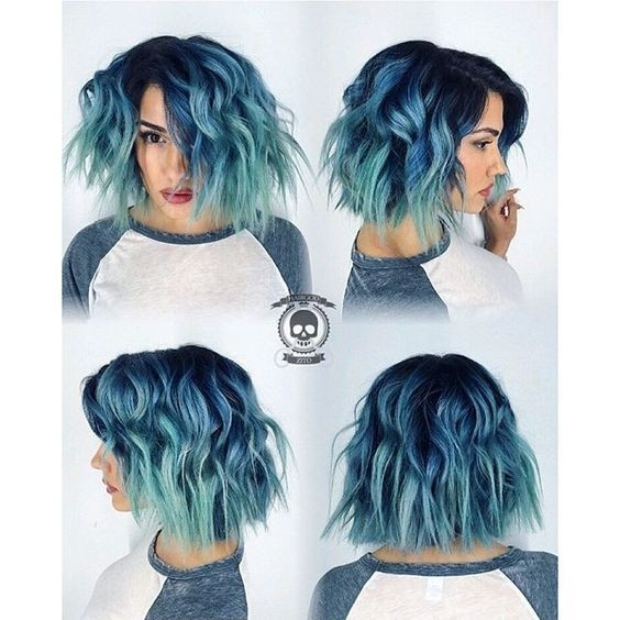 Stylish 10 intriguing blue hairstyles and color ideas 2020 Blue Short Hair Styles Choices
