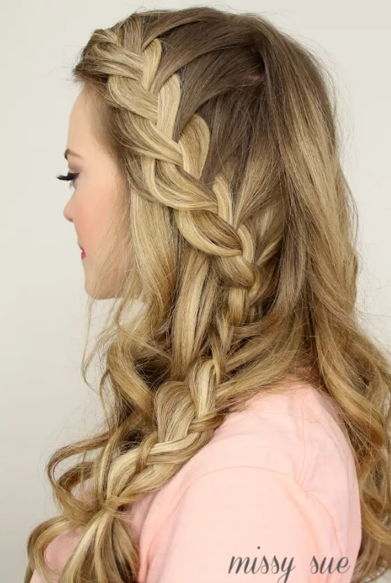 Stylish 10 prettiest french plait hairstyles to try out now French Braided Hair Styles Choices
