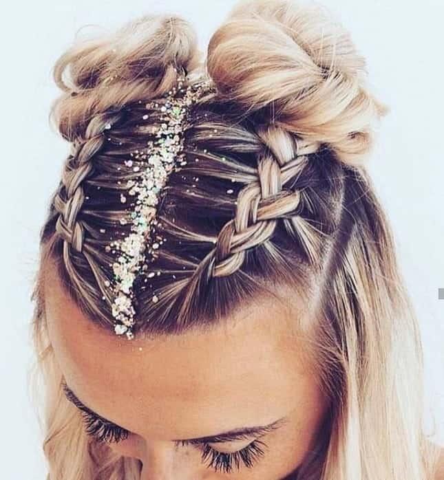 Stylish 12 classy french braid styles to rock with short hair French Braid Ideas For Short Hair Inspirations