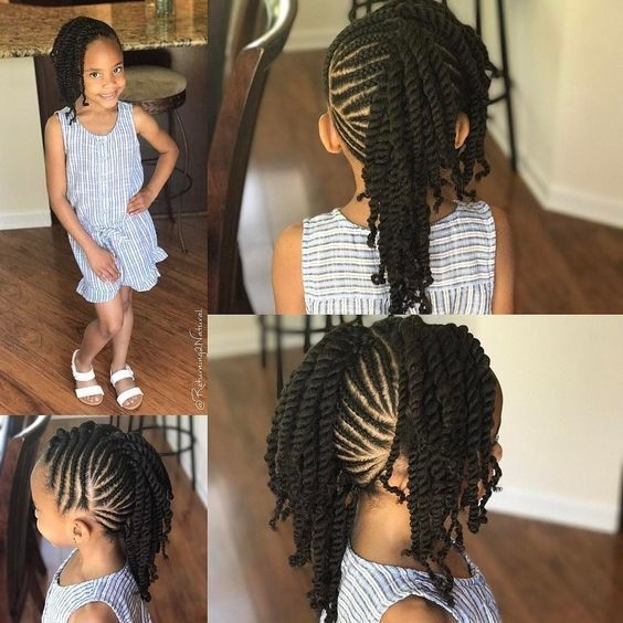 Stylish 12 easy winter protective natural hairstyles for kids African American Kids Hairstyles Ideas