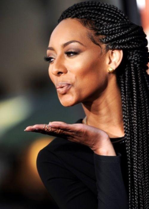 Stylish 12 pretty african american braids popular haircuts African American Box Braids