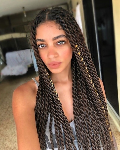 Stylish 12 trending box twists hairstyles to try now 2021 update Braided Twist Hairstyles Choices