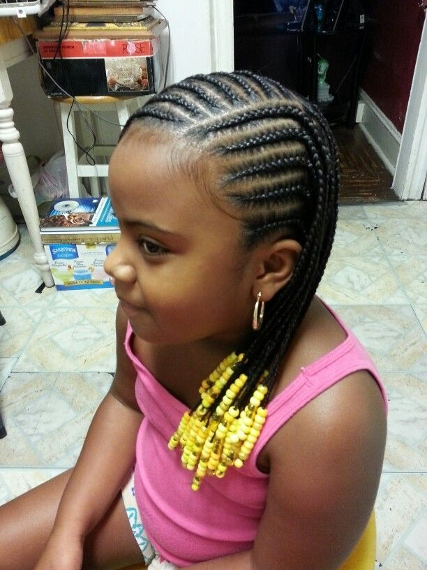 Stylish 14 lovely braided hairstyles for kids pretty designs Child Hair Braiding Styles Ideas