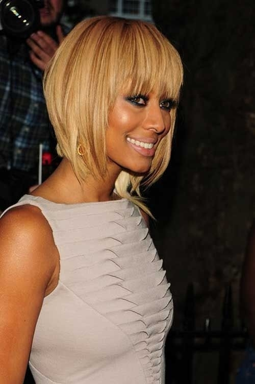 Stylish 15 chic short bob hairstyles black women haircut designs African American Layered Hairstyles With Bangs Ideas