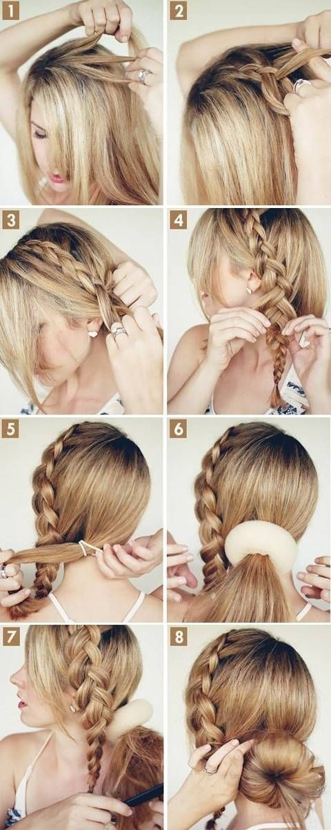 Stylish 15 cute hairstyles step step hairstyles for long hair Braid Hairstyles For Long Hair Step By Step Choices