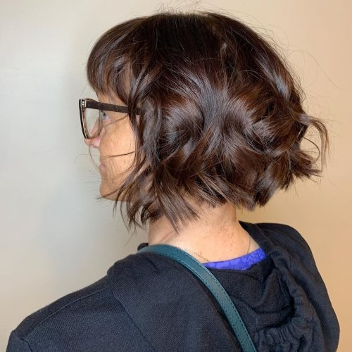 Stylish 17 best short hairstyles for women over 50 with glasses Glasses For Short Hair Styles Ideas