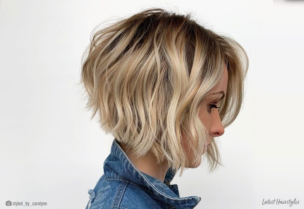 Stylish 17 short wavy bob haircuts trending right now Pictures Of Short Bob Haircuts Ideas