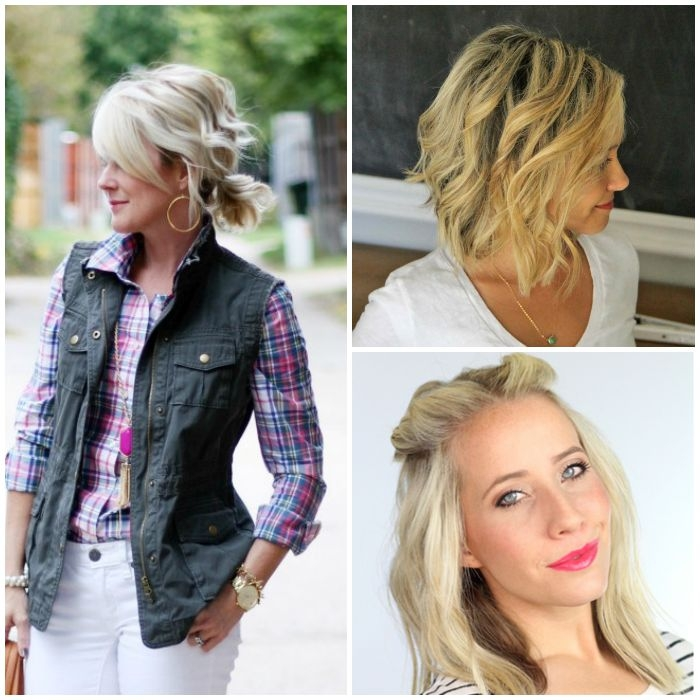 Stylish 18 easy styles for short hair Short Hair Styling Tips Choices