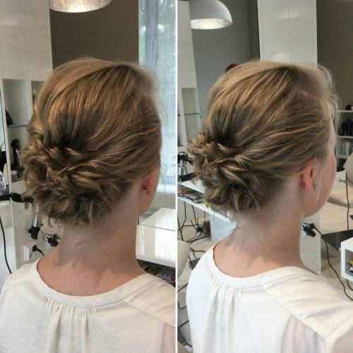 Stylish 19 cute easy updos for short hair Easy Updo Hairstyles For Short Length Hair Inspirations