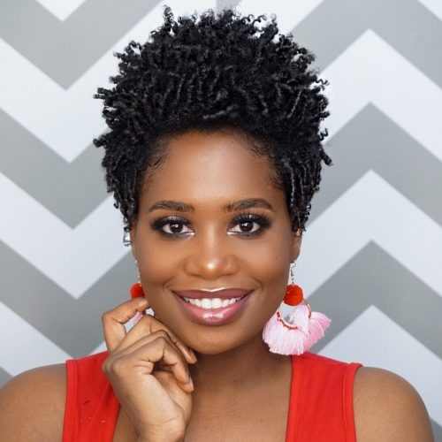 Stylish 19 hottest short natural haircuts for black women with short African American Female Natural Hairstyles Designs