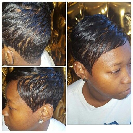 Stylish 20 black natural hairstyles for short thin hair Hairstyles For Thin African American Hair Designs